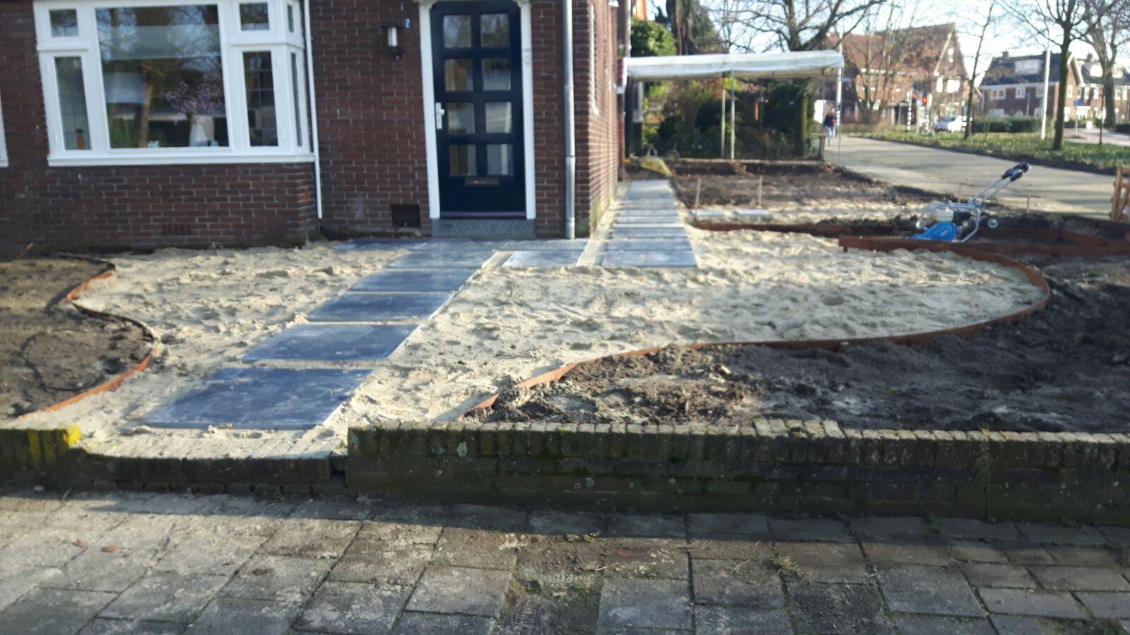 Start aanleg oosterse tuin in nijmegen gesselgroen for Tuin aanleggen nijmegen