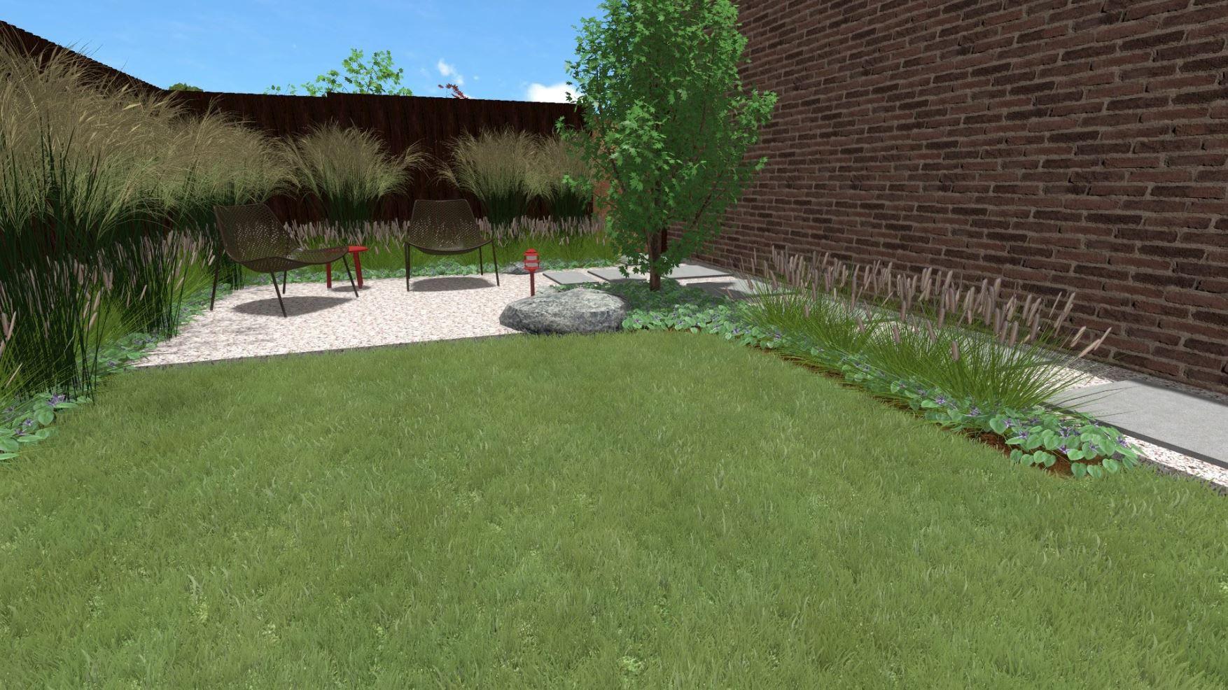 Project van de week oosterse tuin nijmegen gesselgroen for Tuin aanleggen nijmegen