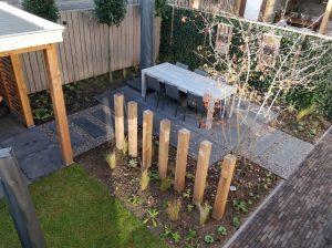 Eigentijdse tuin in Ochten