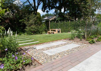 aangelegde tuin Maarn